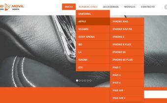 Desarrollo web de la url www.centro-movil.net