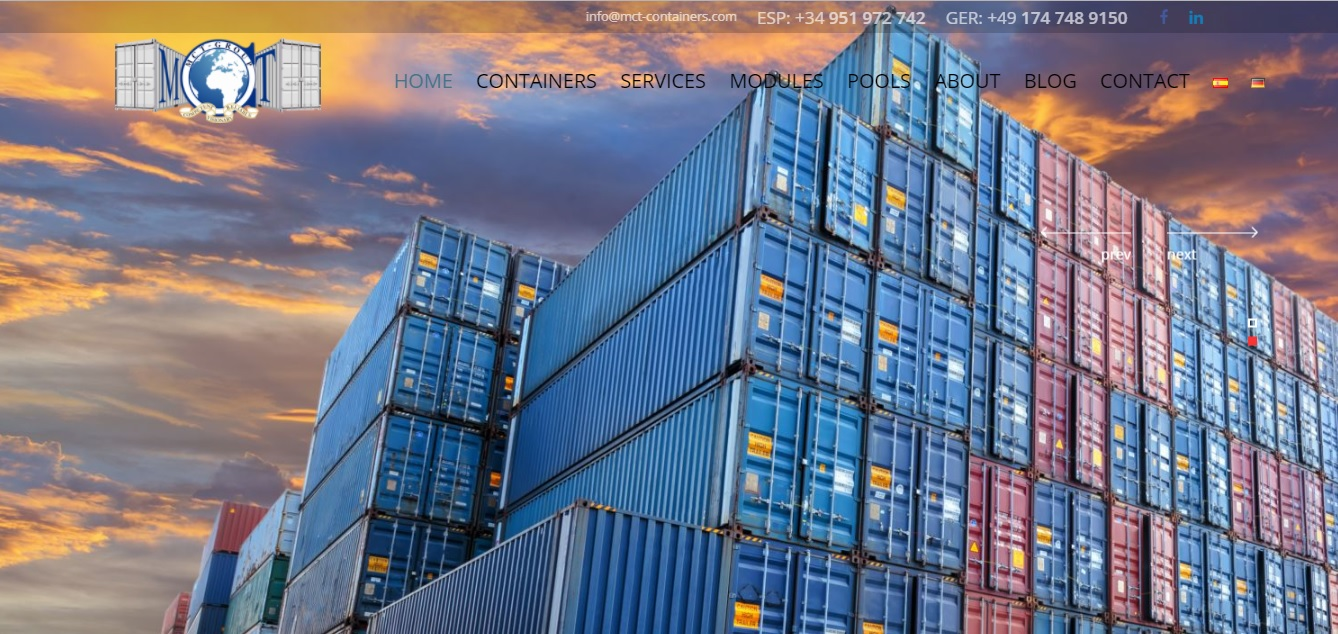 web mct containers