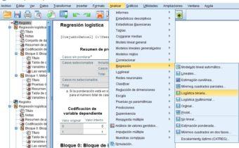 Regresión Logística Binaria con SPSS
