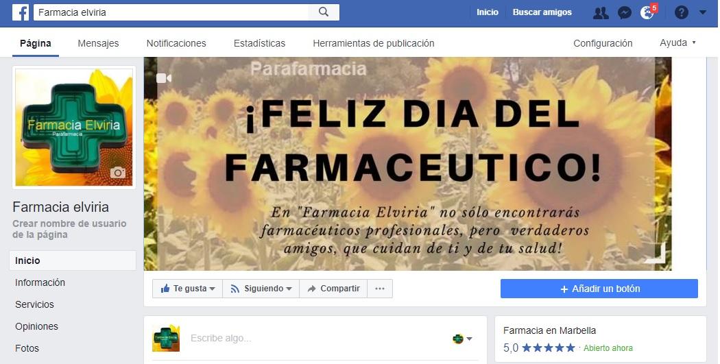 personalizacion Facebook empresa