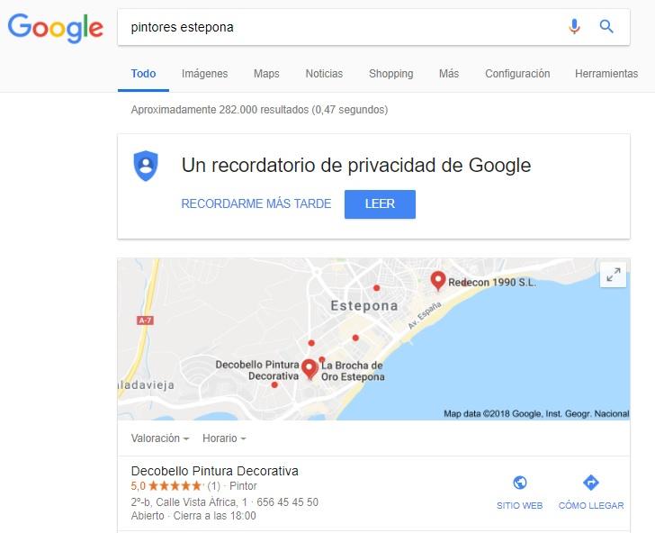 palabras clave SEO en Málaga