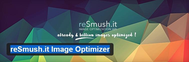 plugin resmushit image optimize para optimizar imágenes
