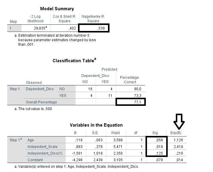 Logistic Binary Regression Model