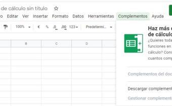 Google Sheets tutorial en español