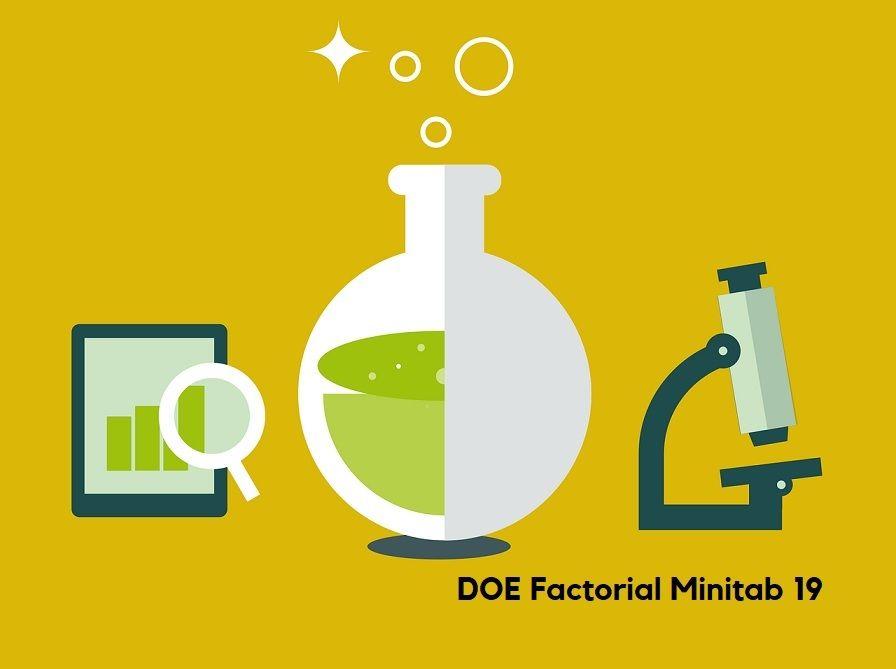 DOE Factorial con Minitab