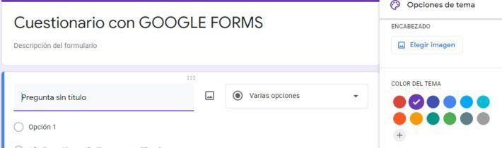 Cómo hacer cuestionarios con Google