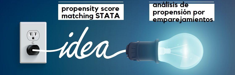 Propensity Score Matching con el software estadístico STATA